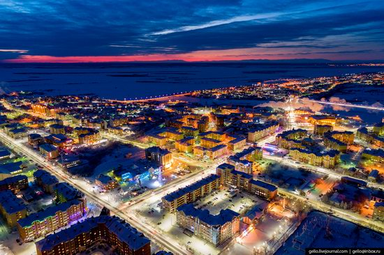 Salekhard, Russia - the view from above, photo 16