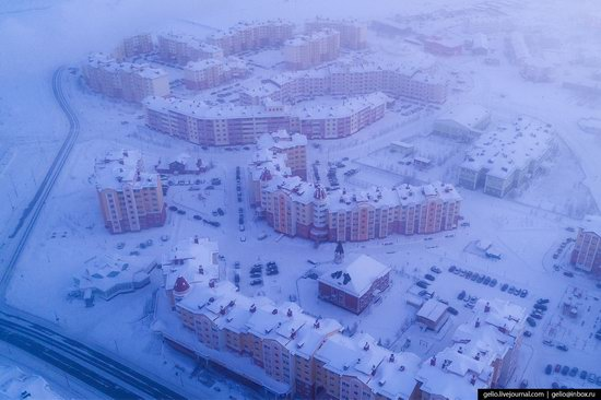Salekhard, Russia - the view from above, photo 19