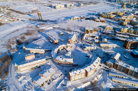 Salekhard, Russia - the view from above, photo 20