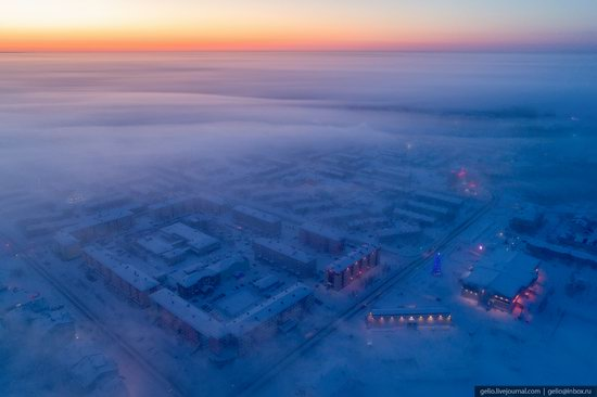 Salekhard, Russia - the view from above, photo 23