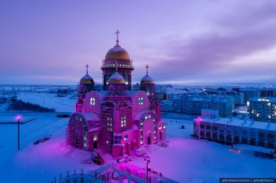 Salekhard, Russia - the view from above, photo 24
