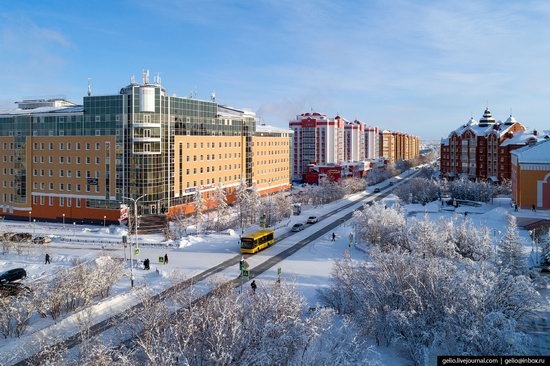 Salekhard, Russia - the view from above, photo 25