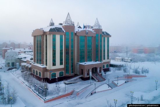 Salekhard, Russia - the view from above, photo 4