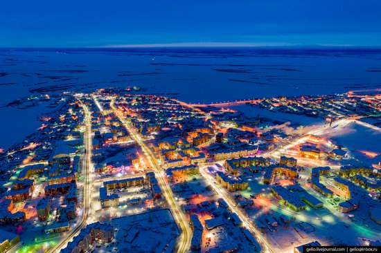 Salekhard, Russia - the view from above, photo 5