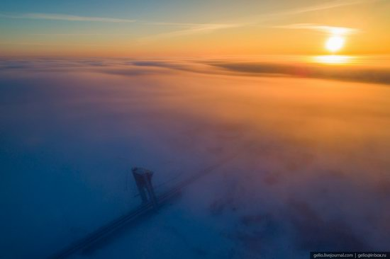 Salekhard, Russia - the view from above, photo 7
