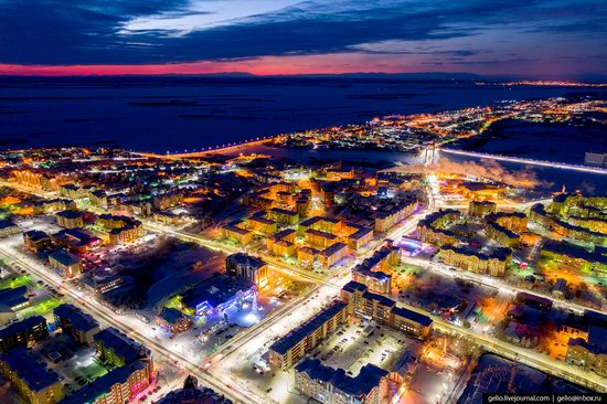 Salekhard, Russia - the view from above, photo 8