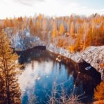 Autumn in the Ruskeala Mountain Park