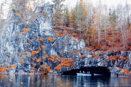 Autumn in the Ruskeala Mountain Park, Karelia, Russia, photo 12