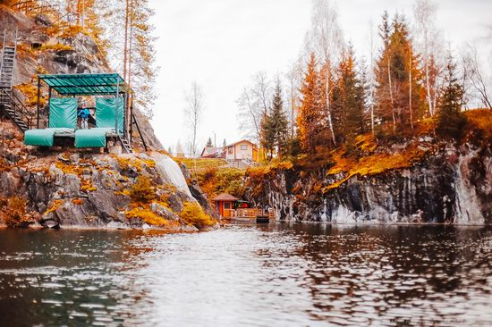 Autumn in the Ruskeala Mountain Park, Karelia, Russia, photo 16