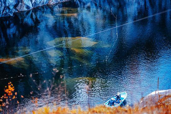 Autumn in the Ruskeala Mountain Park, Karelia, Russia, photo 18