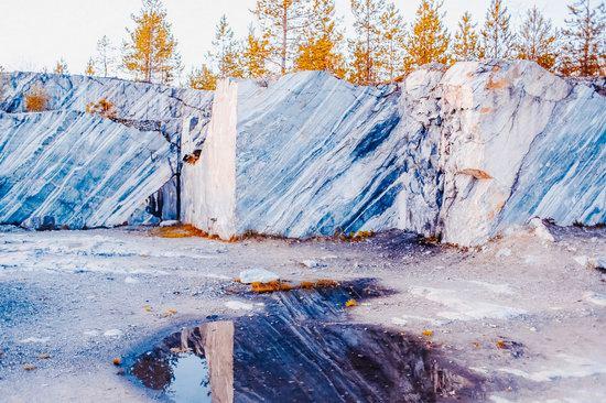 Autumn in the Ruskeala Mountain Park, Karelia, Russia, photo 20