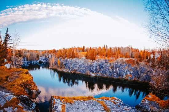 Autumn in the Ruskeala Mountain Park, Karelia, Russia, photo 22