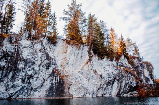 Autumn in the Ruskeala Mountain Park, Karelia, Russia, photo 3