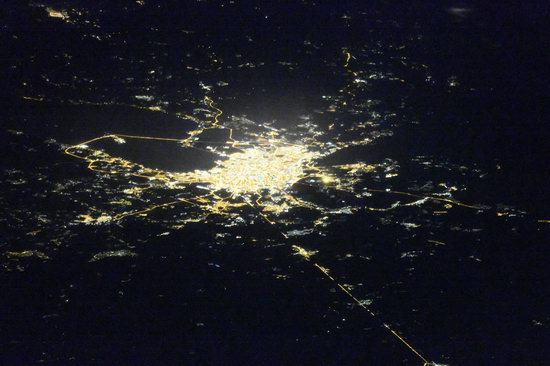Cities of Russia at Night from Space - Saint Petersburg