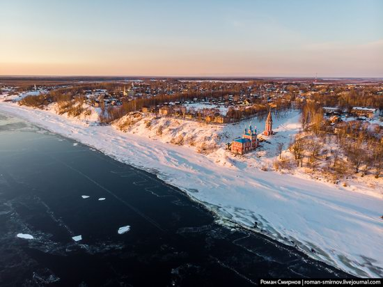 Tutayev, Russia - the view from above, photo 1