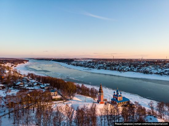 Tutayev, Russia - the view from above, photo 10