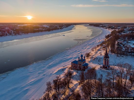Tutayev, Russia - the view from above, photo 12