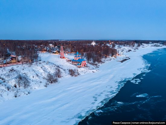 Tutayev, Russia - the view from above, photo 15