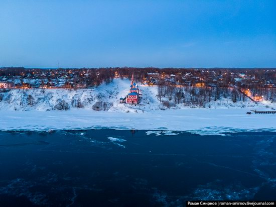 Tutayev, Russia - the view from above, photo 16