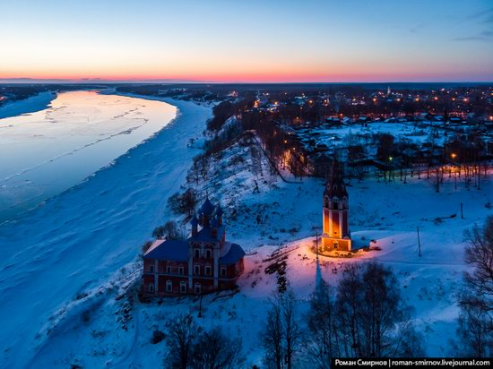 Tutayev, Russia - the view from above, photo 19