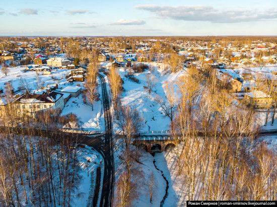 Tutayev, Russia - the view from above, photo 2