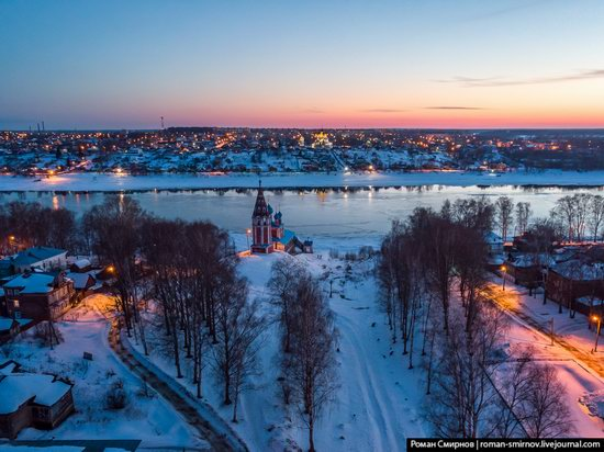 Tutayev, Russia - the view from above, photo 20