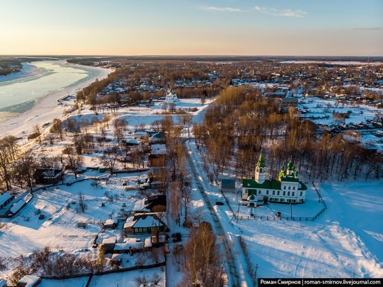 Tutayev, Russia - the view from above, photo 8