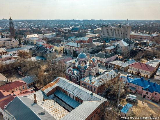 Yelets, Russia - the view from above, photo 1