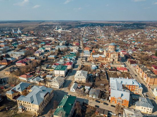 Yelets, Russia - the view from above, photo 10