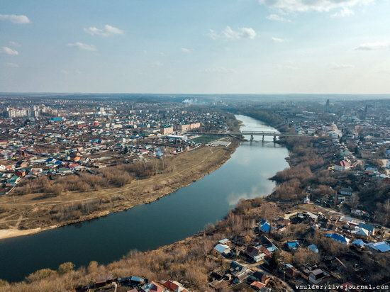 Yelets, Russia - the view from above, photo 12