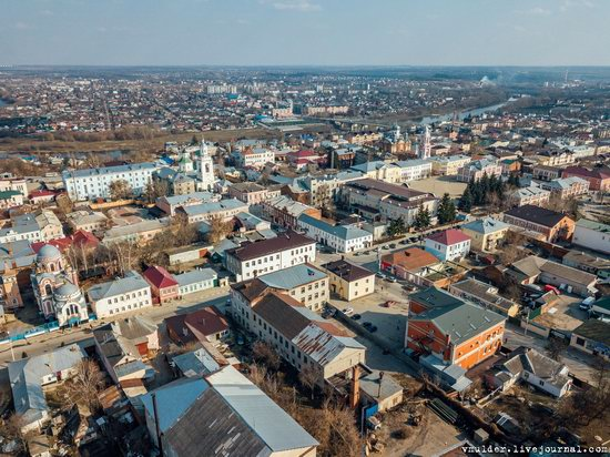 Yelets, Russia - the view from above, photo 16