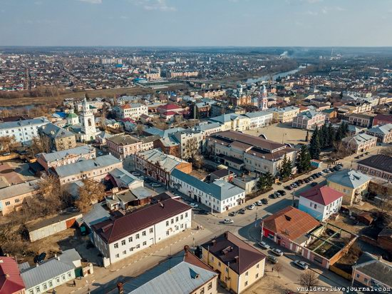 Yelets, Russia - the view from above, photo 17