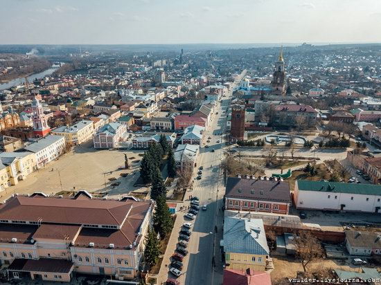 Yelets, Russia - the view from above, photo 18