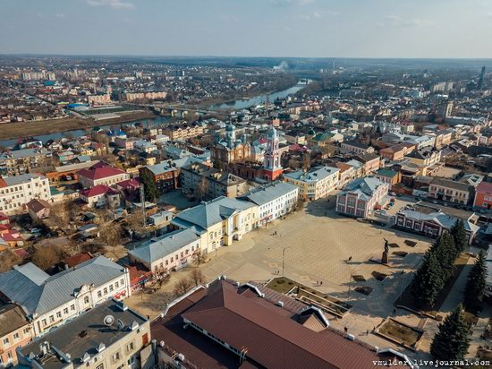 Yelets, Russia - the view from above, photo 19