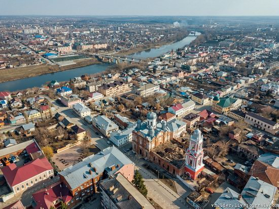 Yelets, Russia - the view from above, photo 20