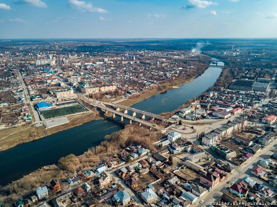 Yelets, Russia - the view from above, photo 21