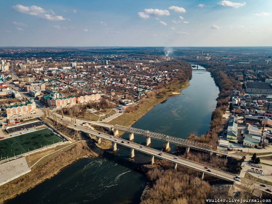 Yelets, Russia - the view from above, photo 22
