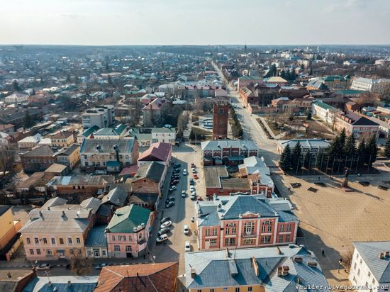 Yelets, Russia - the view from above, photo 24