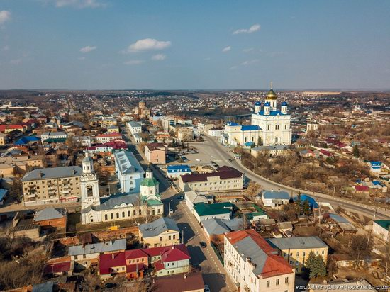 Yelets, Russia - the view from above, photo 25