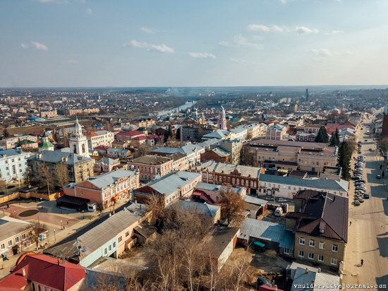 Yelets, Russia - the view from above, photo 3