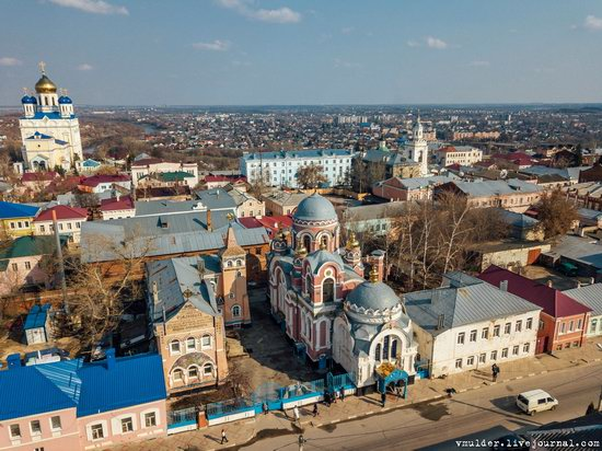 Yelets, Russia - the view from above, photo 4