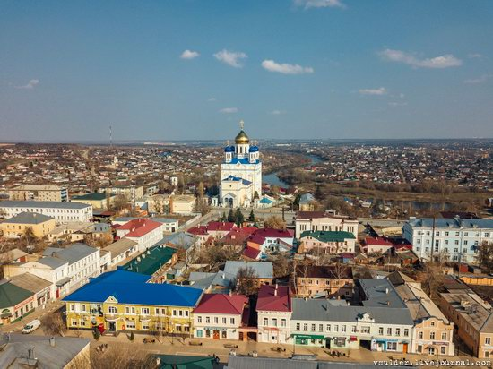 Yelets, Russia - the view from above, photo 6