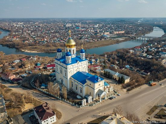 Yelets, Russia - the view from above, photo 7