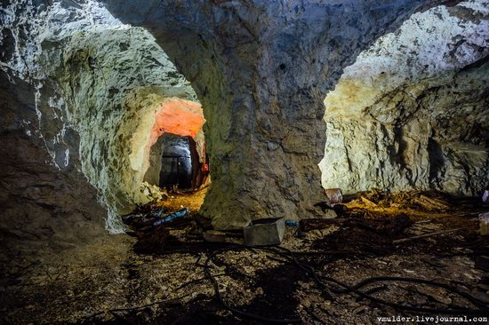Abandoned Uranium Mine in the Stavropol Region, Russia, photo 20