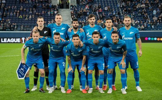 FC Zenit St. Petersburg, Russia