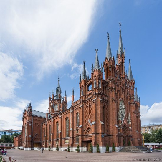 The Largest Catholic Cathedral in Russia, photo 1