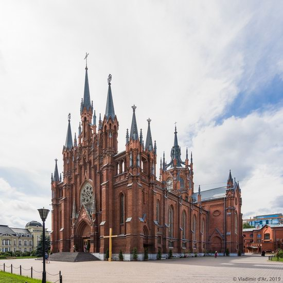 The Largest Catholic Cathedral in Russia, photo 4