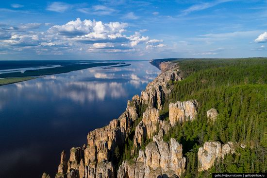 Lena Pillars, Yakutia, Russia, photo 3