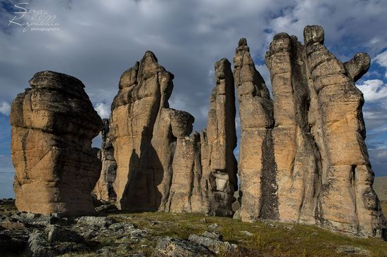 The cliffs of the Ulakhan-Sis Range, Yakutia, Russia, photo 11