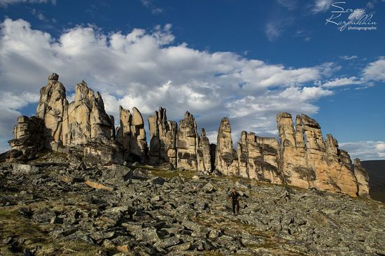 The cliffs of the Ulakhan-Sis Range, Yakutia, Russia, photo 12